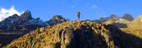 Mt Kenya from Chogoria Trach