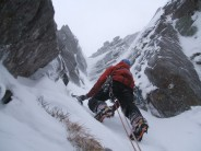 First Ascent of Cerro Norrie (V,5)- the true finish to Sinclair's Last Stand.