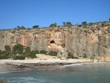 Busy day at Cala Magraner<br>© Dane