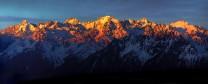 Sunrise from Savoleyres