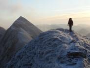 Andy S on the Devils Ridge