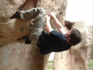 Bouldering at Wickham Thornes Activity Center