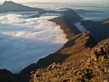 Harta coire, Druim na Ramh and Coruisk with cloud inversion at sunrise<br>© DesperateDan