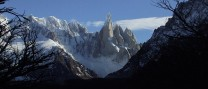 cerro torre and her mates from the trail to de agostini