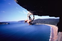 Jason Piper - 1st Ascent, Into the Blue, Mt Ettalong, NSW Australia