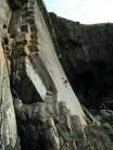 ClimbingPixie on Armorican VS 4c
