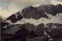 Bivi by (I think) Argentiere hut