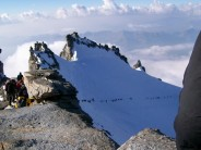 Summit fever on Grand Paradiso