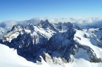 View from N face of les Ecrins