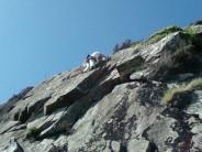 First ascent of Walk the Plank (Mat Dowsett)