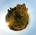 a Dartmoor Panorama from Hound Tor<br>© Dan Arkle