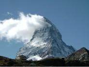The Matterhorn from below Schwarzee