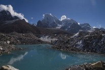 Cholatse from the Ngozumpa Glacier