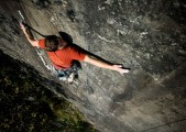Pete Robins attempting Psyche and Burn (E6) Tremadog<br>© Jack Geldard - Assistant Editor