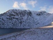 December snow on Helvellyn