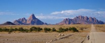 Road to the Spitzkoppe