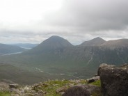 Glamaig looking across Glen Sligachan