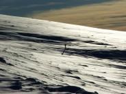 Lone Skier above Loch Ossian-12/1/08