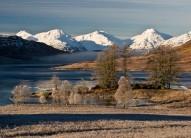 Arrochar Alps from Loch Arklet