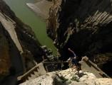 Mind the Gap - the Camino del Rey at El Chorro<br>© Dan Arkle