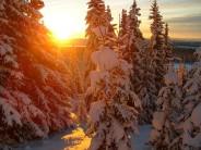 Norway morning sun