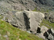 James on chieftain Left Arete, Skye