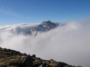 Ben Nevis through the clouds