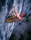 Steve McClure on Mecca Extension (8c) during the filming of 'Magic Numbers' from the Psyche dvd.