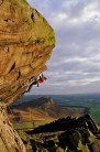 Ben Bransby on the first ascent of Skin & Wishbones, E8 7a, The Roaches