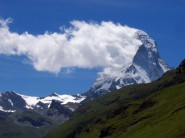 The Matterhorn, definitely out of condition!