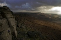 One last route.  End of the Day at Stanage