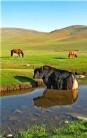 Khan Ondor Hills of Mongolia