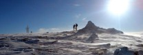 Cairngorm summit, first snow of winter 2006/7
