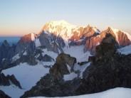 Mont Blanc from Rochefort