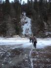 Italian icefall