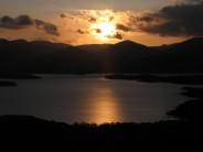 Sunset over Loch Lomond