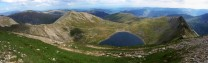 Striding and Swirral Edges from Helvellyn