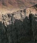 The traverse of Sgurr Thearlaich, Cuillin, Skye.
