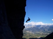 Andy Descending from Le Ponteil, Durance valley