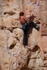 """At Cala Magraner, Mallorca, one of my first leads.  """"The Juggy One"""" F5+"""