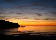 Sunset over Llandudno