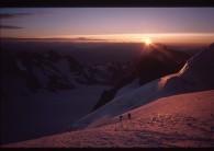 Dawn in the Ecrins
