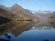 Still water on Loch Coruisk