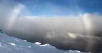 Fogbow on Beinn Liath Mhor