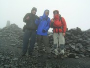 Some loonies on top of Skiddaw