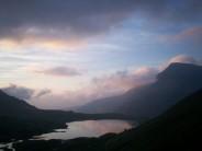 Ogwen as the sun sets....