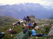 Ian Jackson and Alpine youth team...