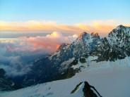 beautiful dawn clouds