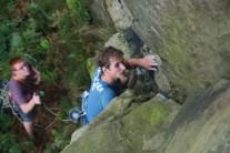 Lumbers climbing