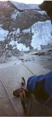 Alam kouh North face wall, polish route -Iran<br>© Alpa